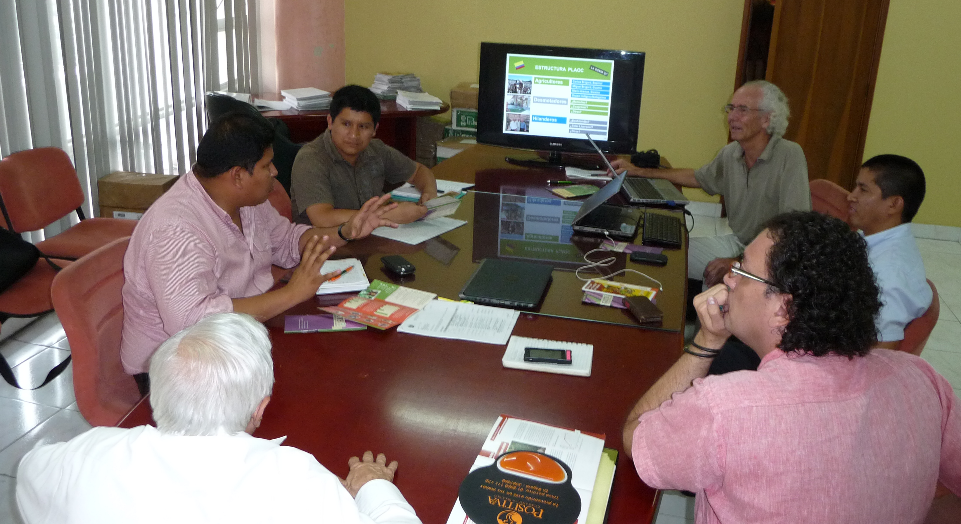 Presentation at the secretariat of agriculture of Tolima, Ibagué, Colombia 2014