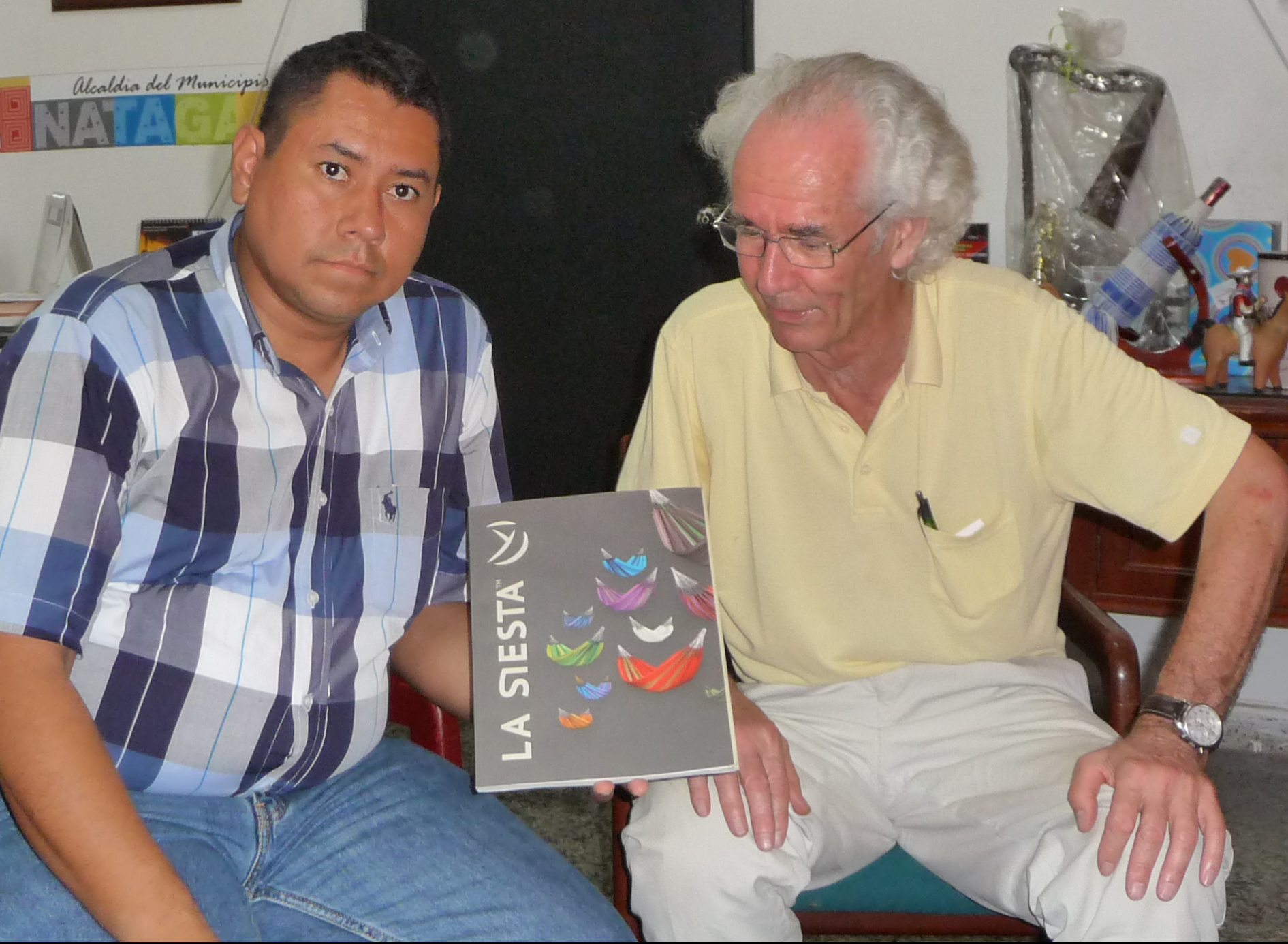 Meeting Major of Natagaima, Colombia 2014