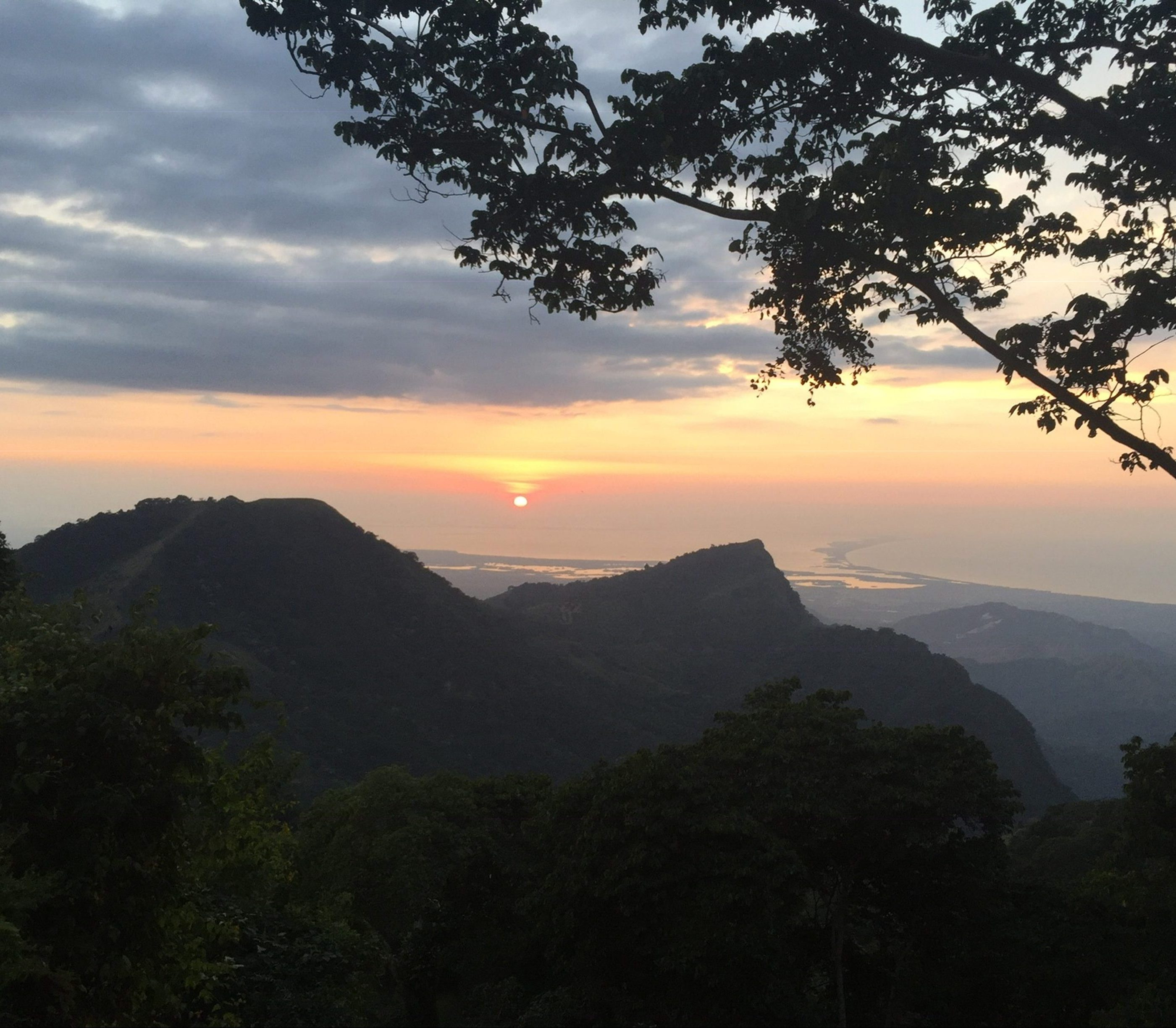 Sunset at the Sierra Nevada de Santa Marta, Magdalena, Colombia, 2018