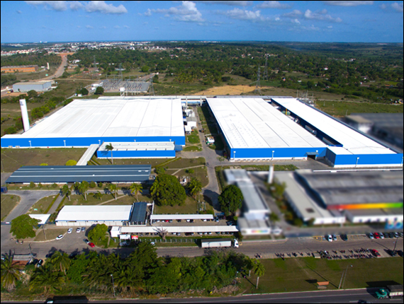 Visit to the Norfil spinning mill, Joãao Pessoa, Paraíba, Brazil, 2017